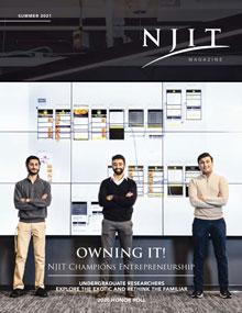 NJIT Magazine Summer 2021 Cover